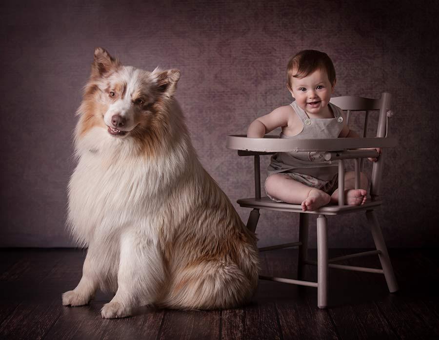foto bambini e famiglie-la spezia-gabriele zani #kids studio animali cane