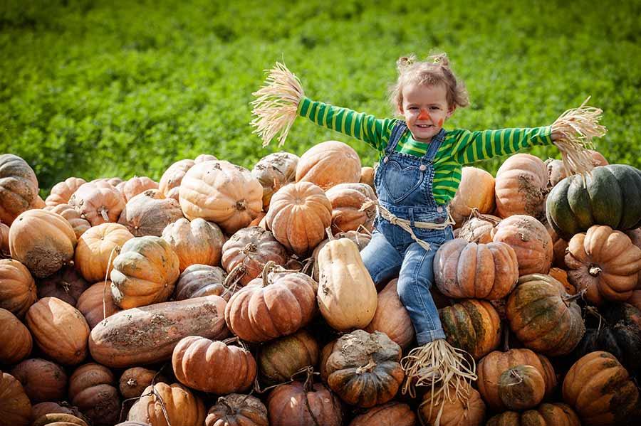 foto bambini-la spezia gabriele zani #halloween zucche