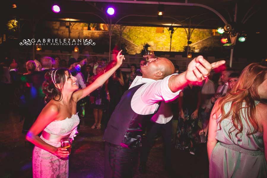 fotografo matrimonio sestri levante sposi festa ballo